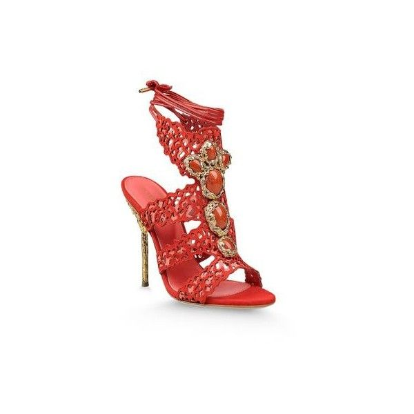 FILIGREE ($1,655) ❤ liked on Polyvore featuring shoes, summer shoes, sergio rossi shoes and sergio rossi