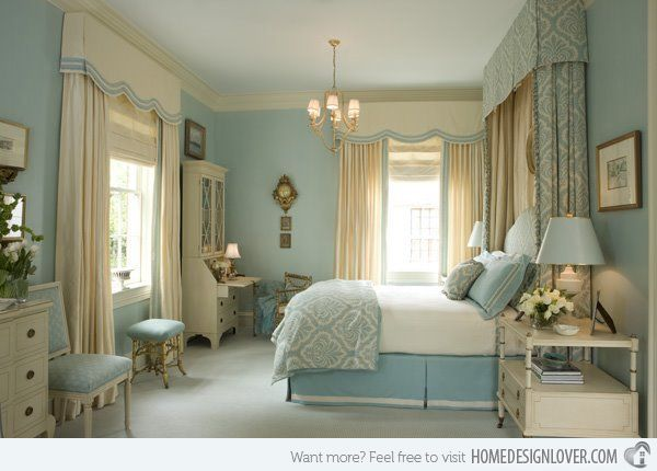 15 Gorgeous Blue And Gold Bedroom Designs Fit For Royalty Home Design Lover Romantic Bedroom Colors Serene Bedroom Blue And Gold Bedroom