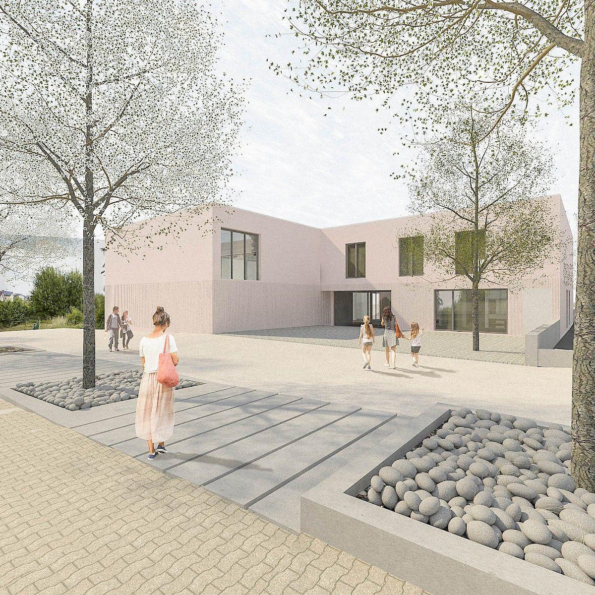 Architekt Kaiserslautern bayer strobel architekten gemeindehaus feg kaiserslautern nord