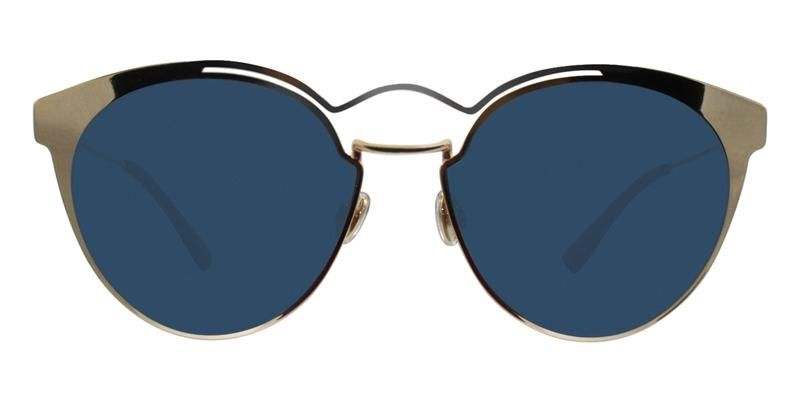 133d1e27f97 Dior Nebula Gold   Blue Lens Sunglasses – shadesdaddy