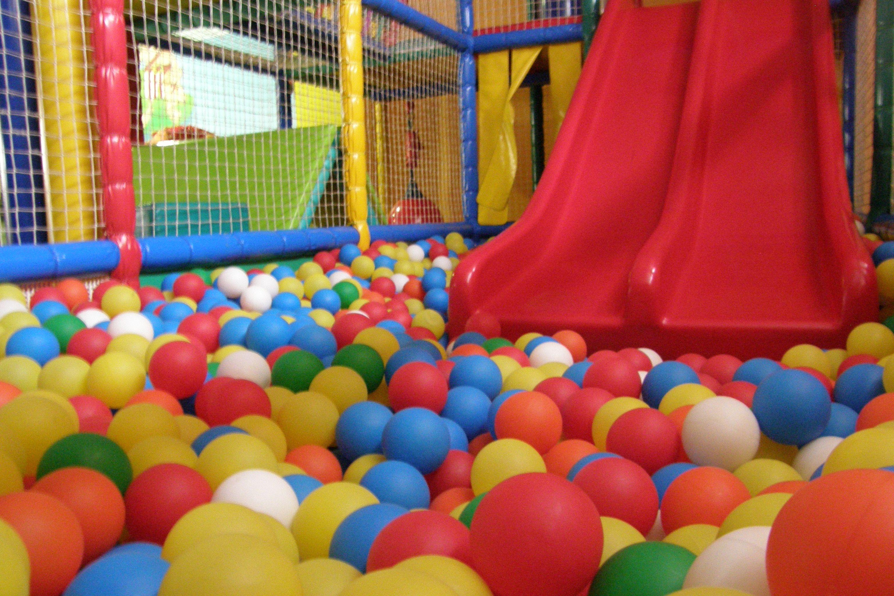 La piscina de bolas!!