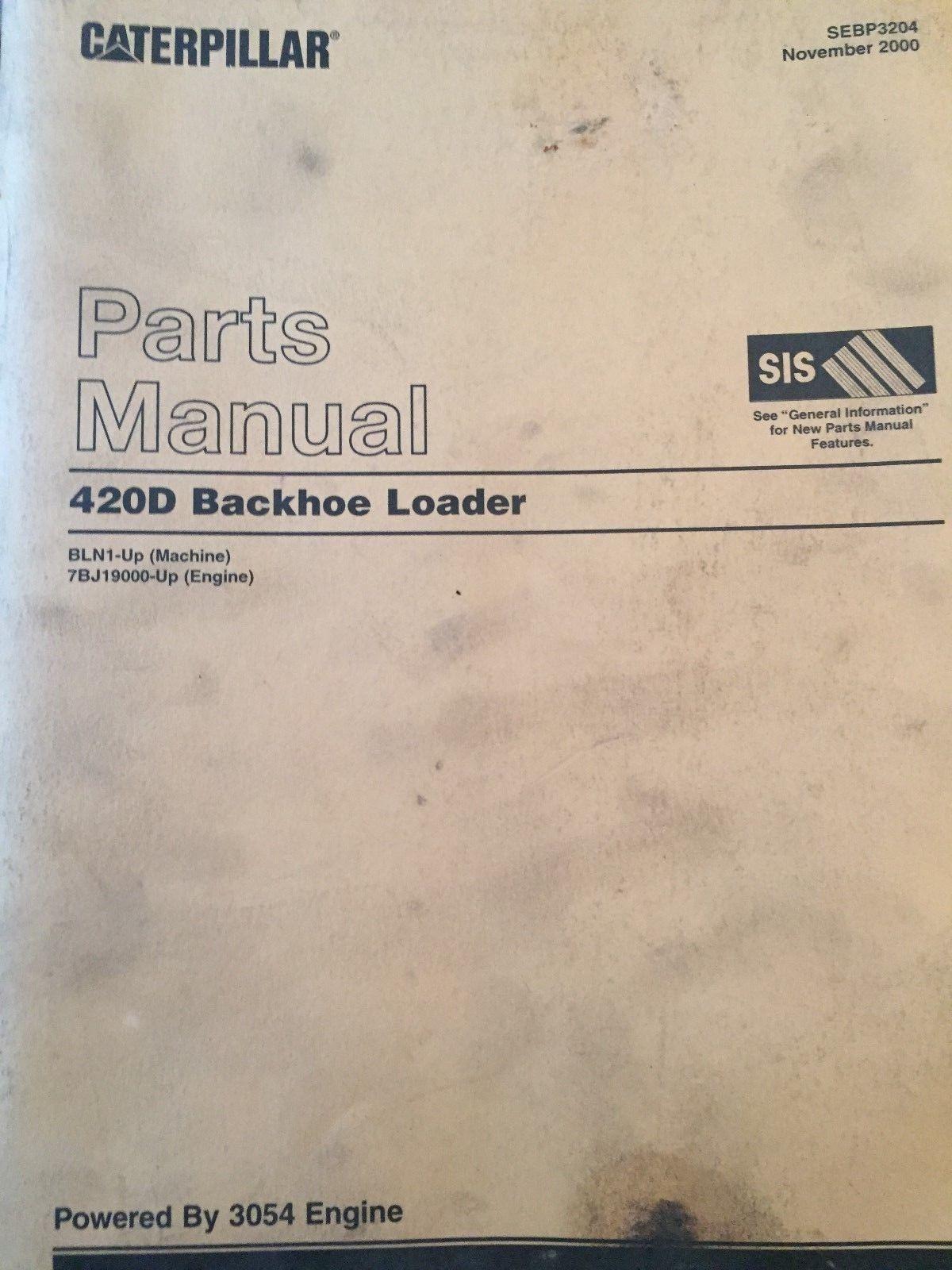3054 cat manual part