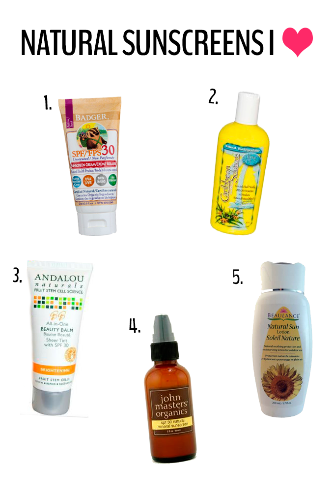 A look at natural sunscreen, some of my favourite brands and why I recommend using it. This is a guide to natural sunscreen in its most complete form!