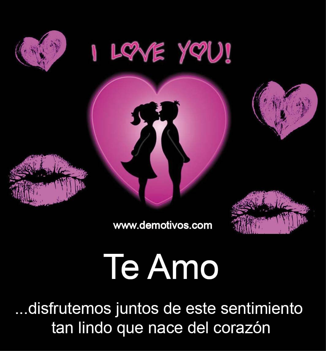 eres mi todo mi vida te amo demasiado