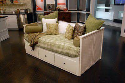 Ikea Hemnes Daybed Sofa Folds Out To