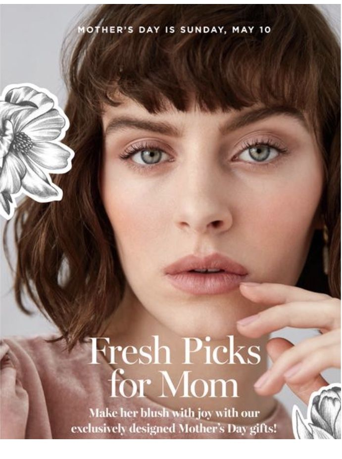 Mother's Day is Sunday, May 10th. You can order beautiful gifts from Avon and have them shipped directly to the special lady in your life! #avon #mothersday #mothersdaygifts #may #sunday #avonrep #directdelivery #mom #mother #gifts #teampossible #avonwithkori