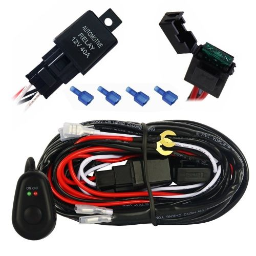 mictuning wiring diagram mictuning image wiring mictuning 12ft wiring harness kit for off road led light bar on mictuning wiring diagram
