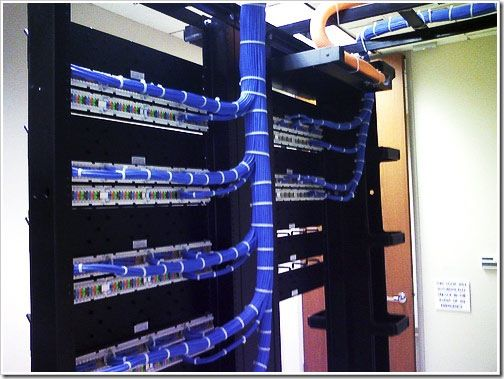 Patch Panel For An ISP