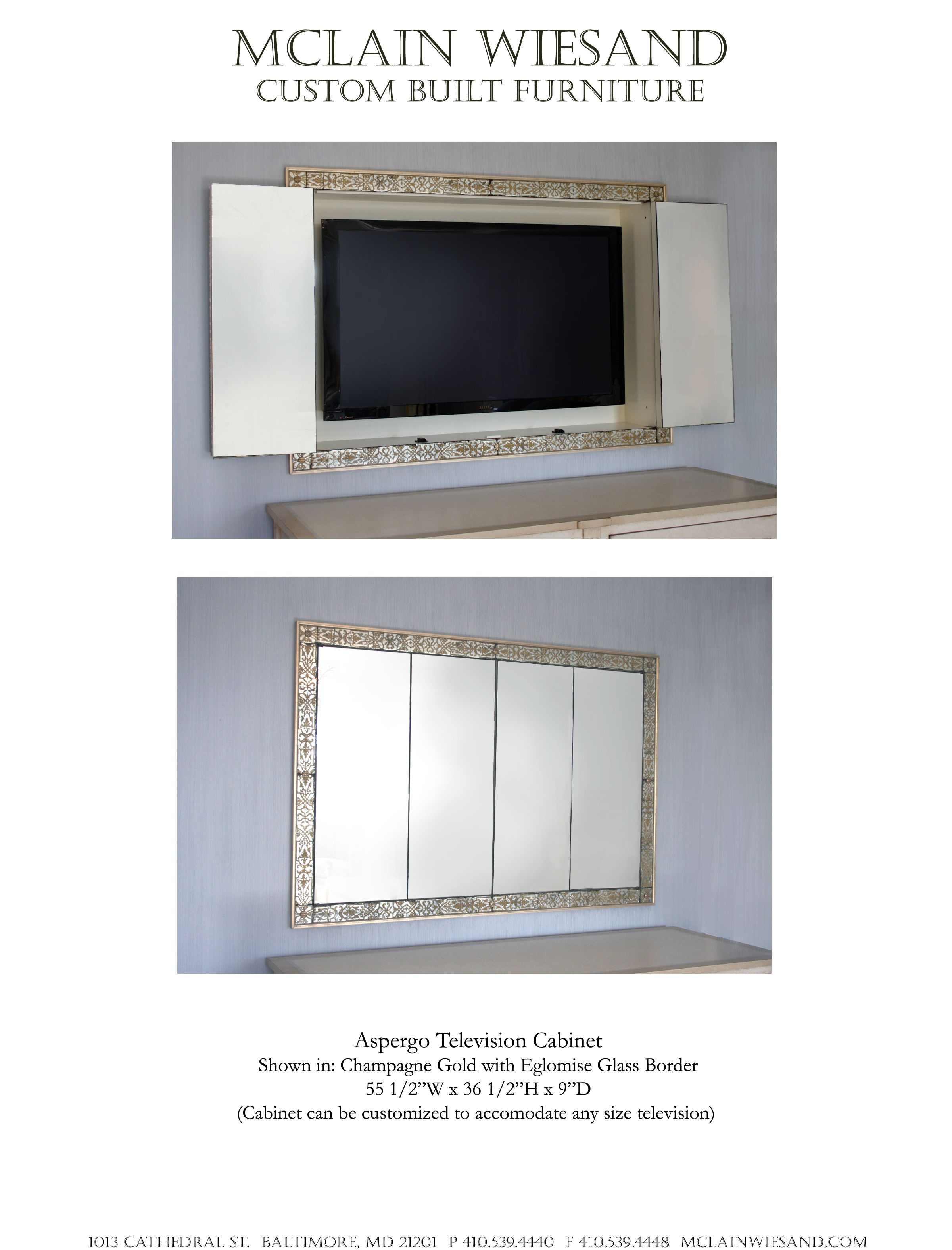 The most beautiful way to disguise your TV! | For the Home ...