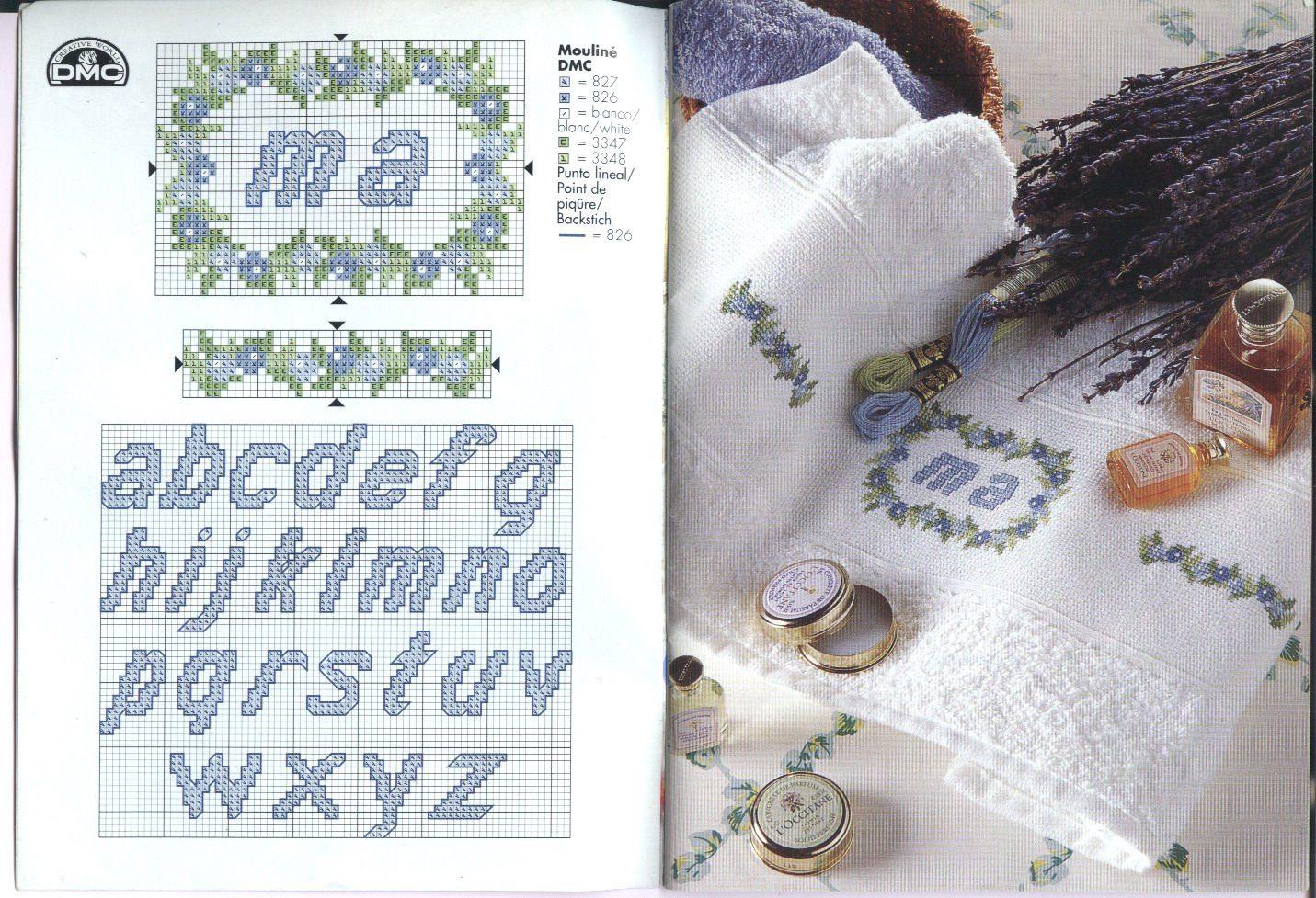 DMC + Idées + pour + Serviettes + 01.jpg (image)   – Cose da comprare