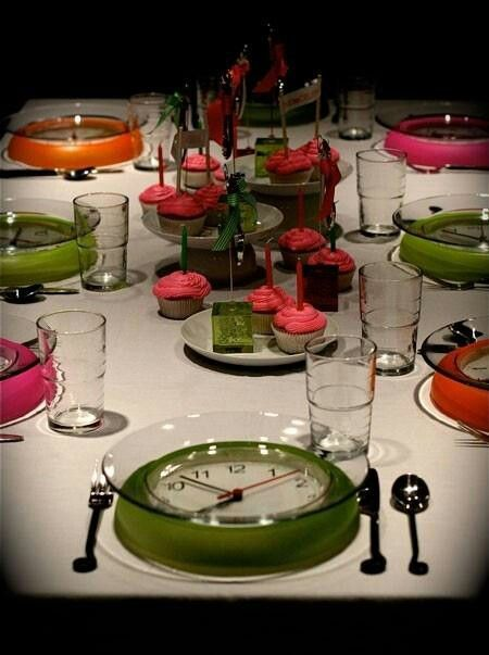 Cool dollar store idea | New years eve table setting, New ...