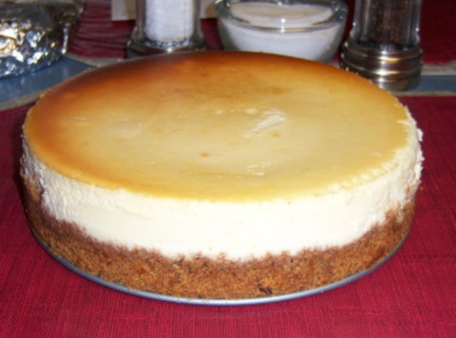 Crack Proof: New York Style Cheese Cake