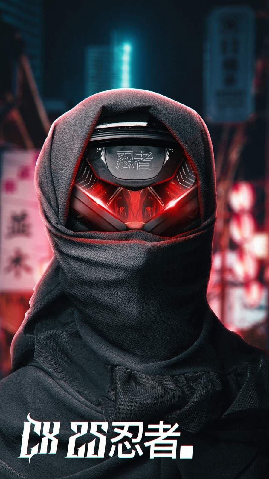 Scifi Ninja iPhone Wallpaper in 2020 Iphone wallpaper