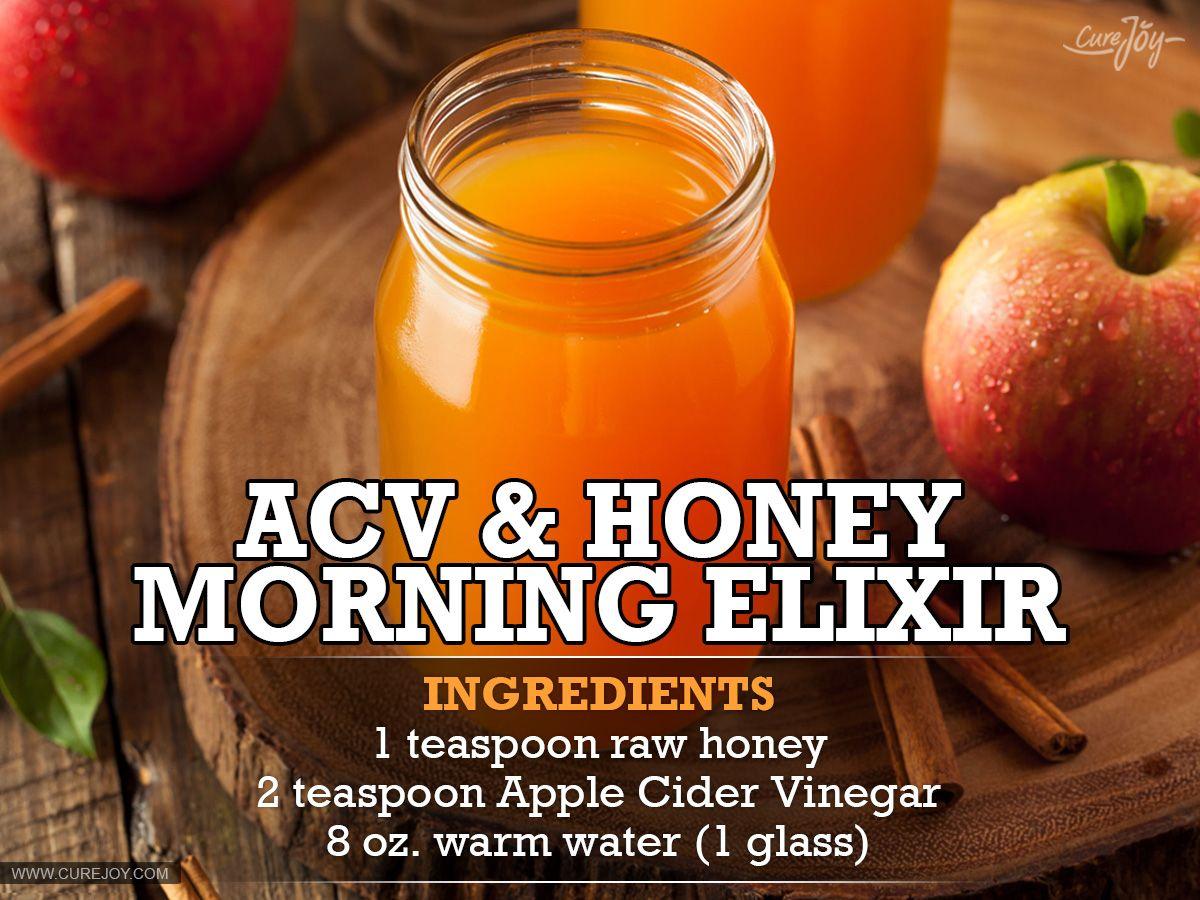 ACV-&-Honey-Morning-Elixir - I used 2 Tbsp ACV and 1 Tbsp raw honey. It  tasted like hot apple cider.