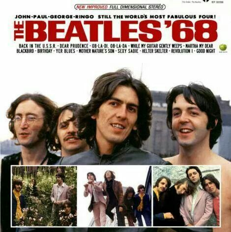 Beatles 68 Cover The Beatles Beatles Albums Beatles Album Covers