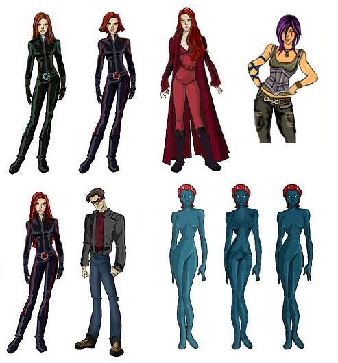 X-men Last Stand as X-men Evolution Characters