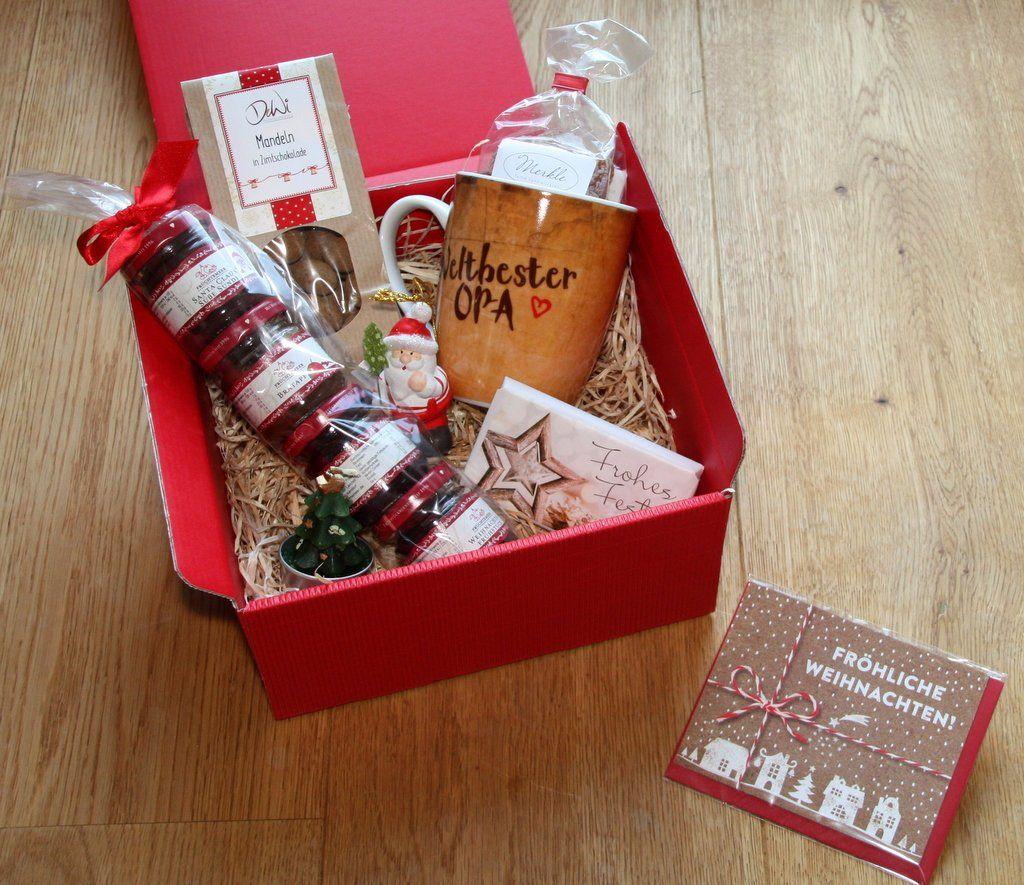 Geld Geschenk Schachtel Weihnachtsmann Weihnachtsgeschenk Weihnachten Box