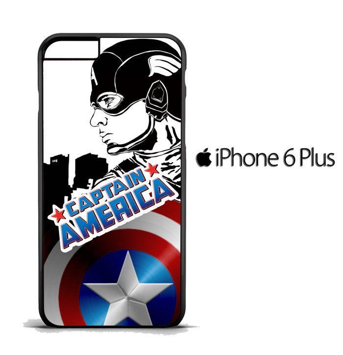 captain america LOGO Y3072 iPhone 6 Plus | 6S Plus Case