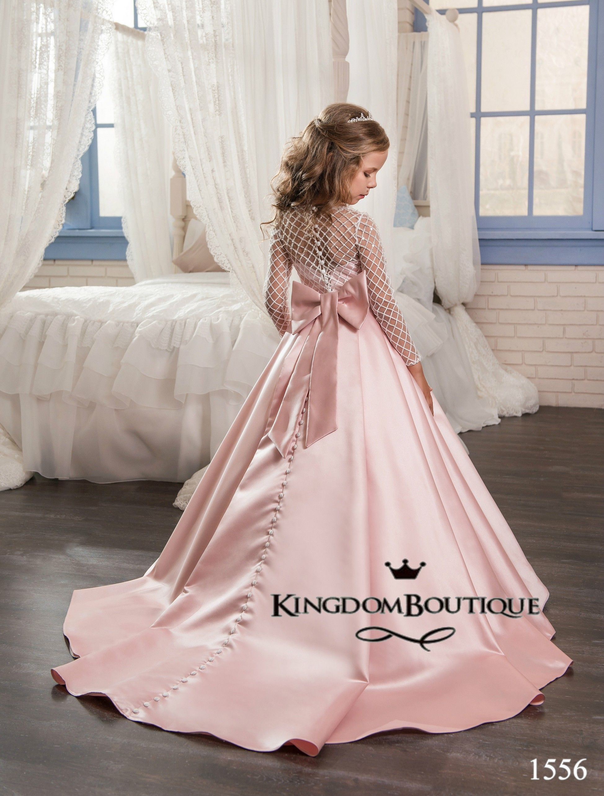 a58df611e30395 Flower girl dress 16-1556 - kingdom.boutique | Girls dresses | Girls ...