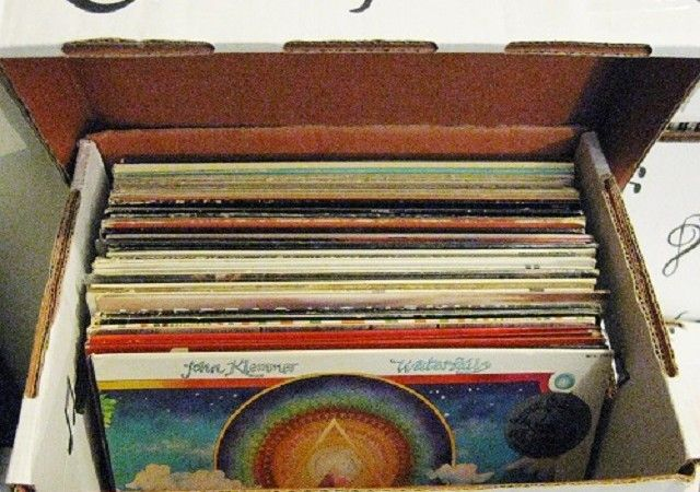 What To Buy A Vinyl Record Collector For Christmas Lp Storage Box Vinyl Records Lp Storage