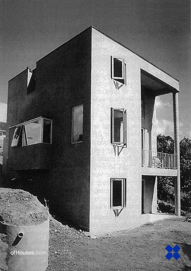 238. Ross Jenner /// Jenner House /// Auckland, New Zealand /// 1986