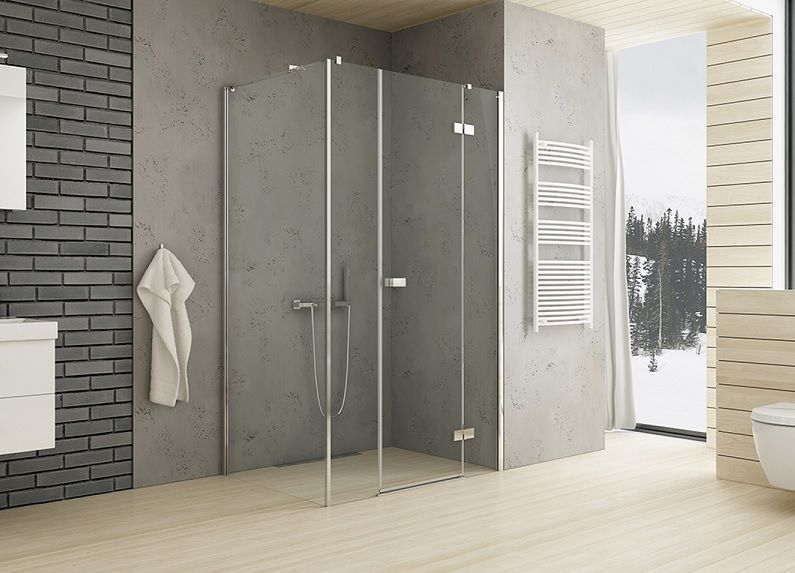 Kabina Prostokatna Z Drzwiami Uchylnymi New Trendy Reflexa Newtrendy Mieszkaniemarzen Projektowaniewnetrzwarszawa Shower Cabin Bathroom Decor Diy Wall Art