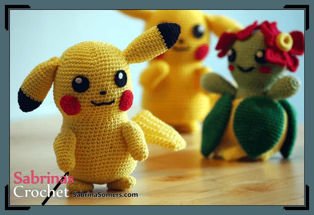 Machen Sie Ihre Eigene Pikachu Von Pokemon Amigurumi Kostenlos