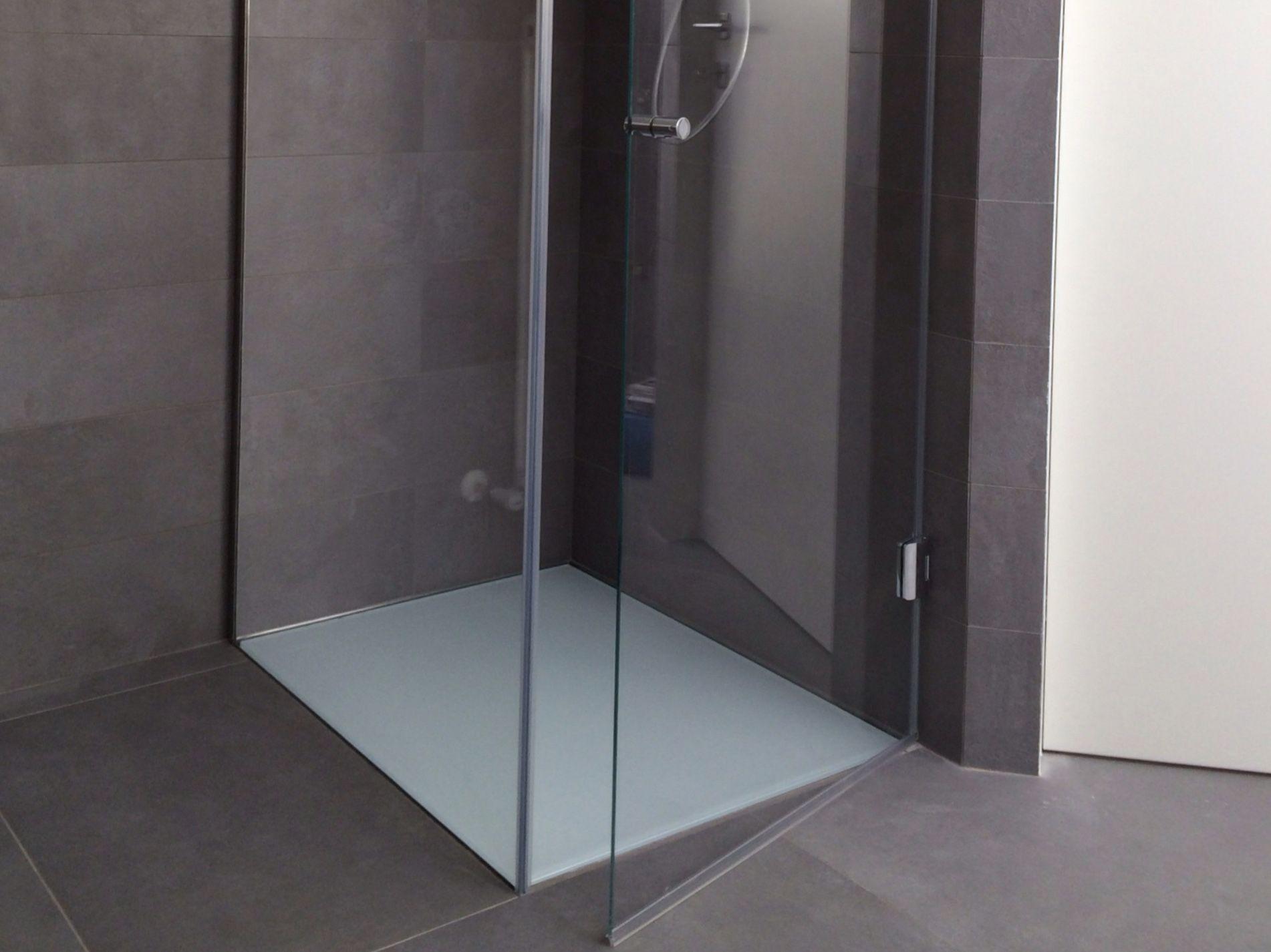 Pedana doccia Vetro Colorato con vernice antiumidità