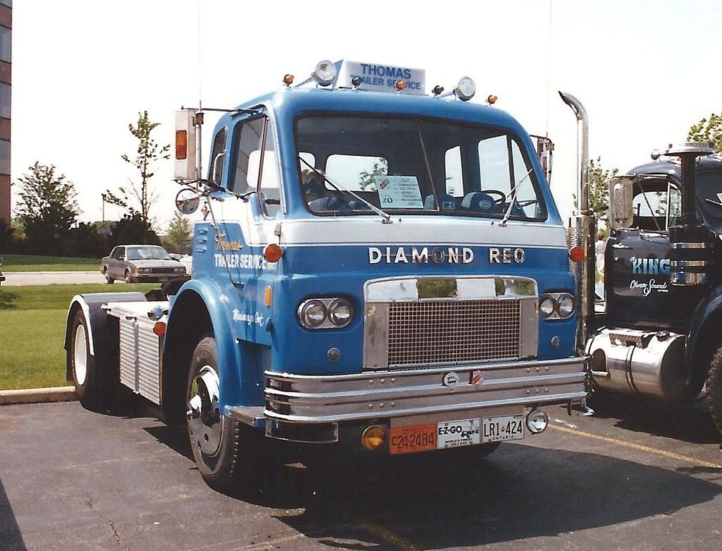 Diamond reo tilt cab tilt rigs and biggest truck diamond reo tilt cab flickr photo sharing sciox Image collections