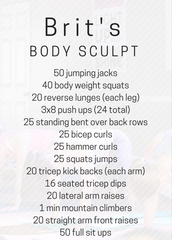 a body sculpt workout you can do in the living room   via