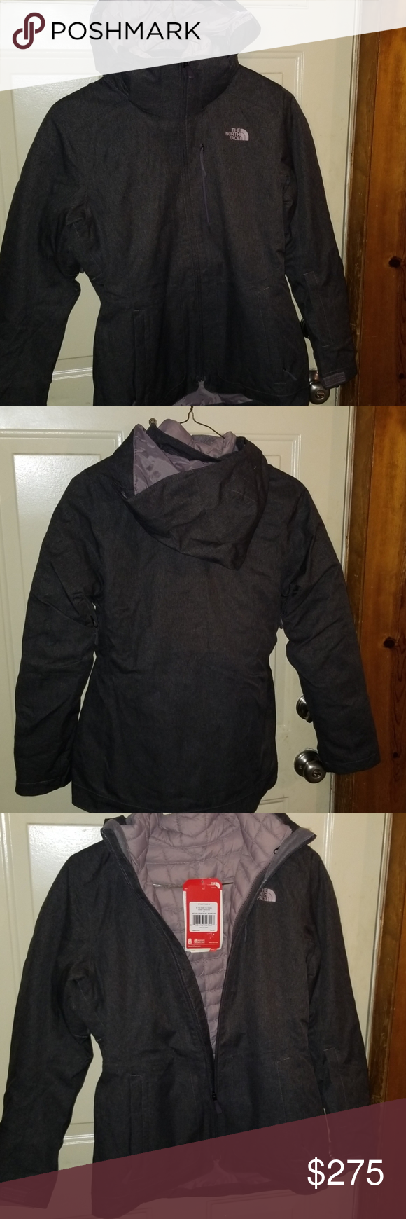 Women Two In One North Face Jacket North Face Jacket Women Two In One Jacket Brand New Never Been Wa North Face Jacket Clothes Design North Face Jacket Women S [ 1740 x 580 Pixel ]