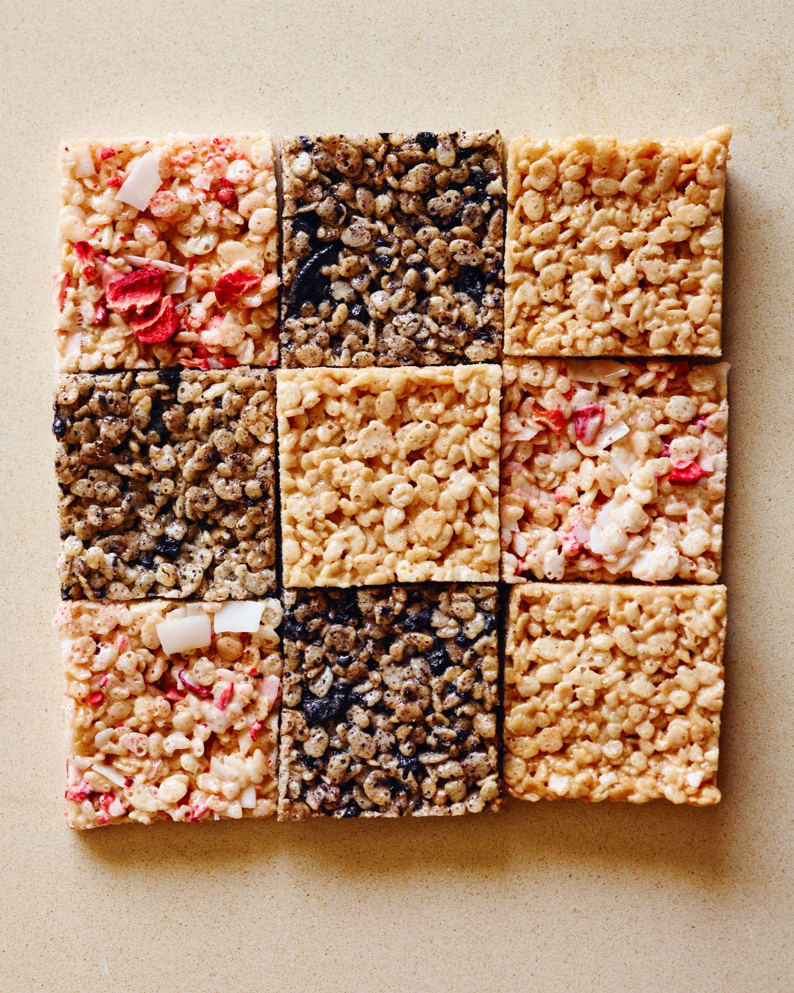 Rice Krispie Treats, 3 Ways   Recipe   Rice krispies, Rice ...