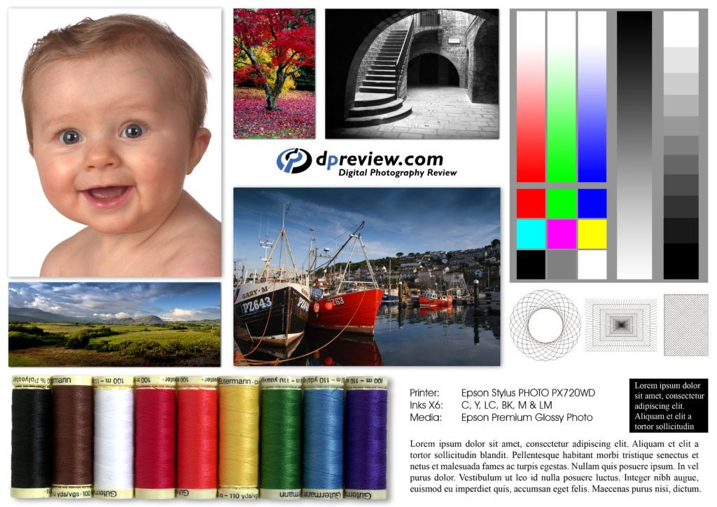 test page epson printer color print test page - Printer Test Page Color