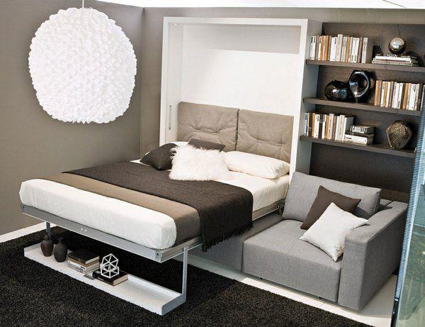 raumsparendes klappbett smarte sofa systeme storage ideas klappbett bett sofa. Black Bedroom Furniture Sets. Home Design Ideas