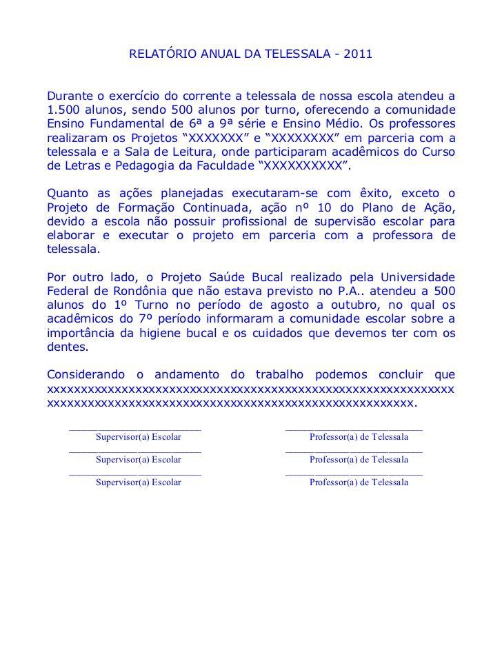 Famosos Modelo de relatorio de projeto - MÚSICA: RELATÓRIO DE PROJETO WT24