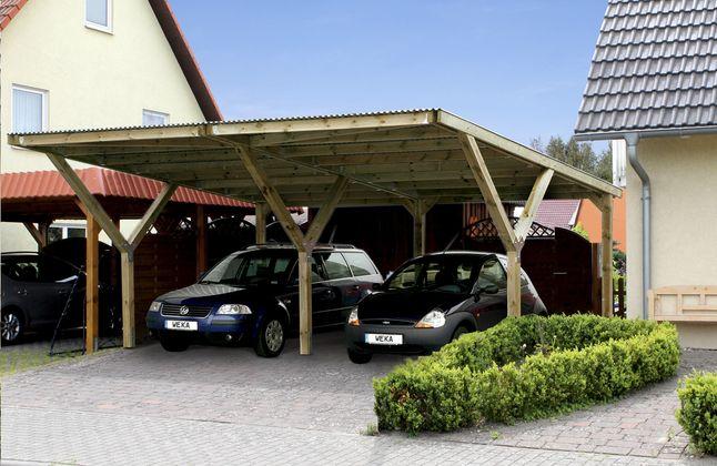 Afbeelding Van Weka Carport Y Duo From Collishop Carport Roof Design Outdoor Decor