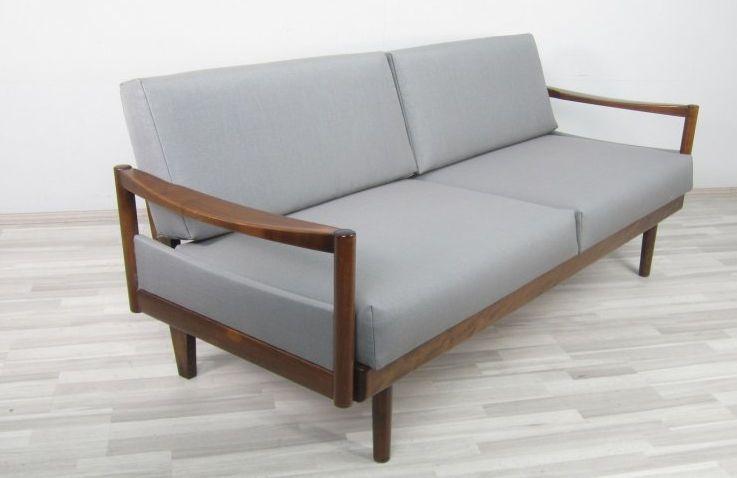 Daybed 50 60er neu bezogen schlafsofa couch in for Sofa 60er stil