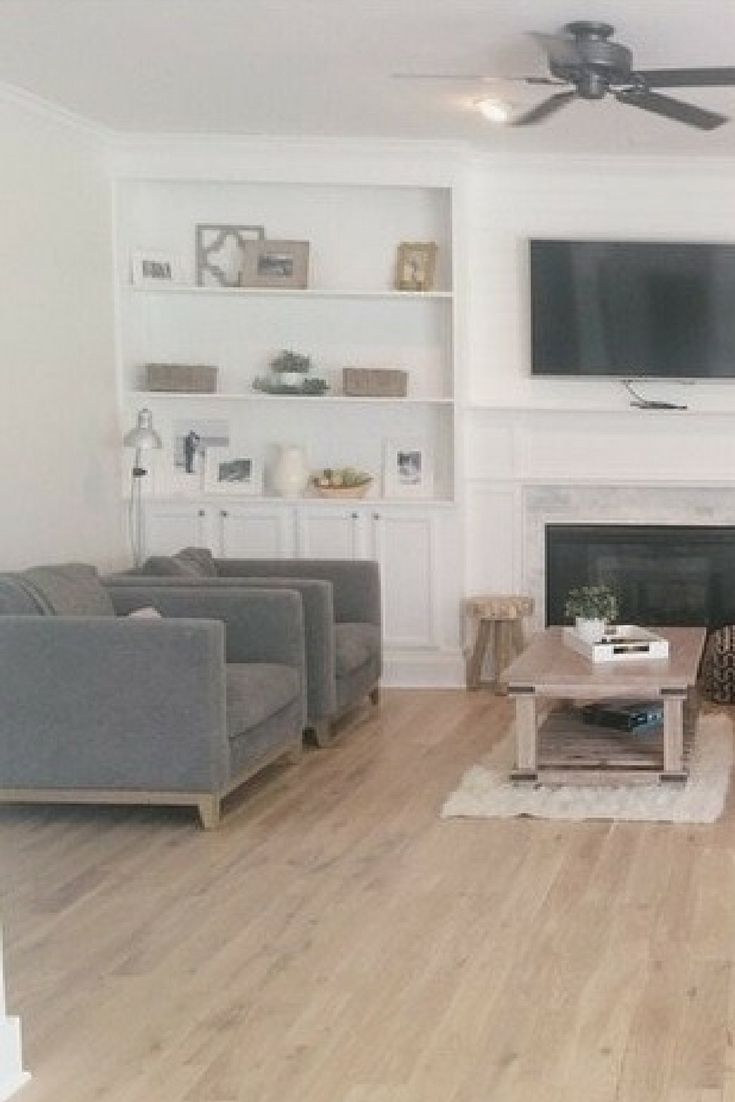 Hardwood - European Brushed Oak Collection | Jasper, LIVING ROOM ...