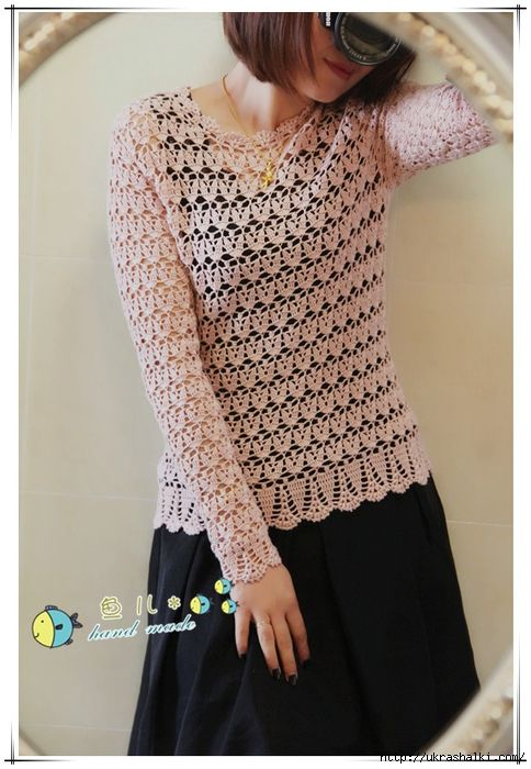 Irish crochet &: CROCHET TUNIC ... ТУНИКА | Crochet Dress/clothing ...