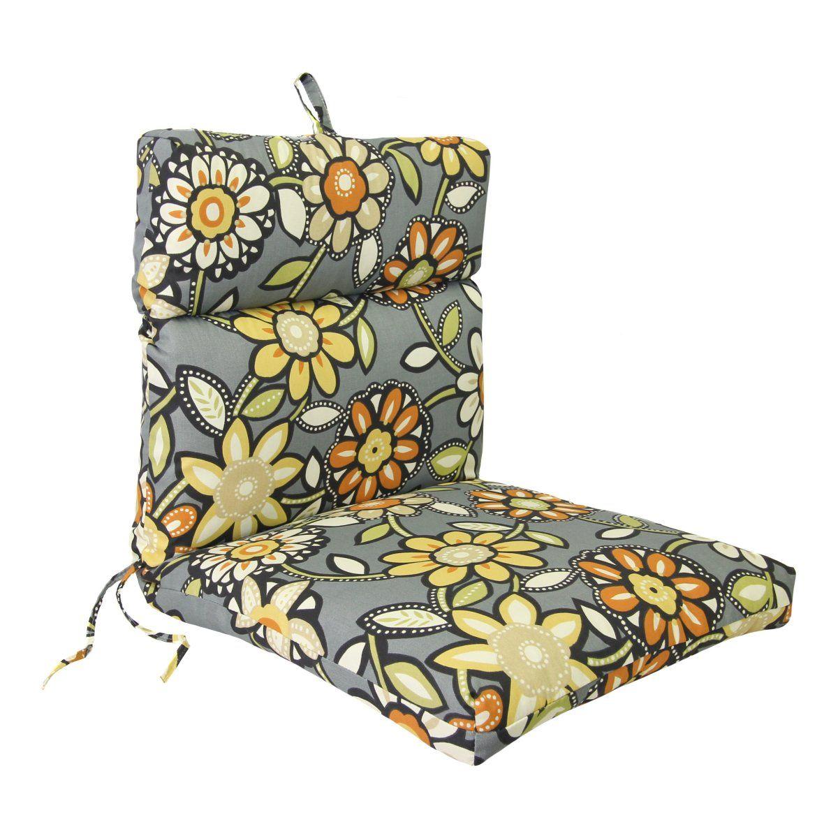 Jordan Manufacturing 22 X 44 Chair Cushion   Outdoor Cushions At Cushions  Galore