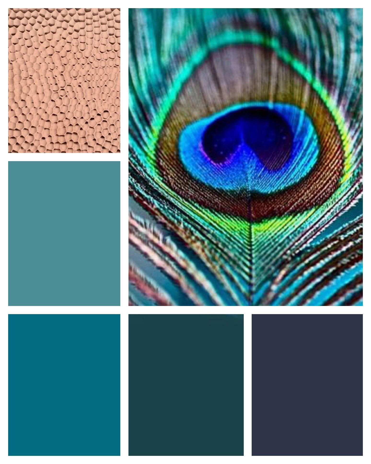 The Color Palette Will Include Navy, Sea Green, Teal