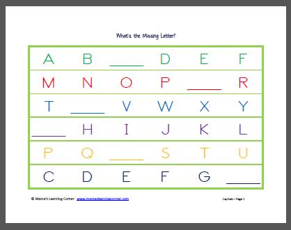 math worksheet : 1000 images about print today on pinterest  worksheets number  : Missing Alphabet Worksheets For Kindergarten