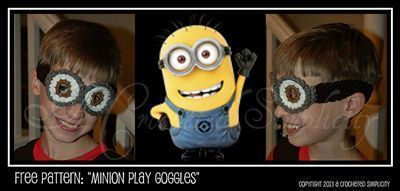 Assemble the Minions! 10 Free Minions Crochet Patterns #minioncrochetpatterns Minion Play Goggles by Jennifer Pionk - free Minons crochet patterns roundup on Moogly! #minioncrochetpatterns Assemble the Minions! 10 Free Minions Crochet Patterns #minioncrochetpatterns Minion Play Goggles by Jennifer Pionk - free Minons crochet patterns roundup on Moogly! #minioncrochetpatterns Assemble the Minions! 10 Free Minions Crochet Patterns #minioncrochetpatterns Minion Play Goggles by Jennifer Pionk - free #minioncrochetpatterns
