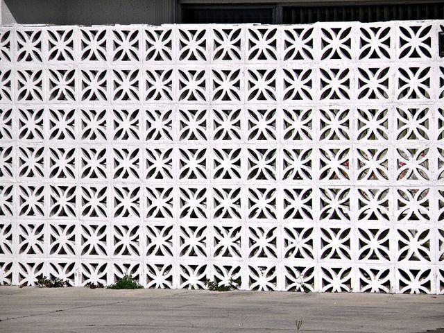 Perforated Screen Walls Breeze Blocks Breeze Block Wall Patio Plans