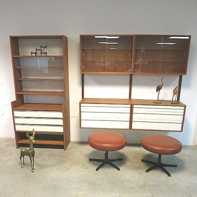 located using u003e wall unit by poul cadovius for royal system
