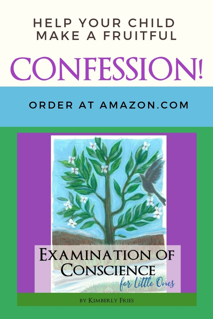 Examination of conscience for little ones examination of