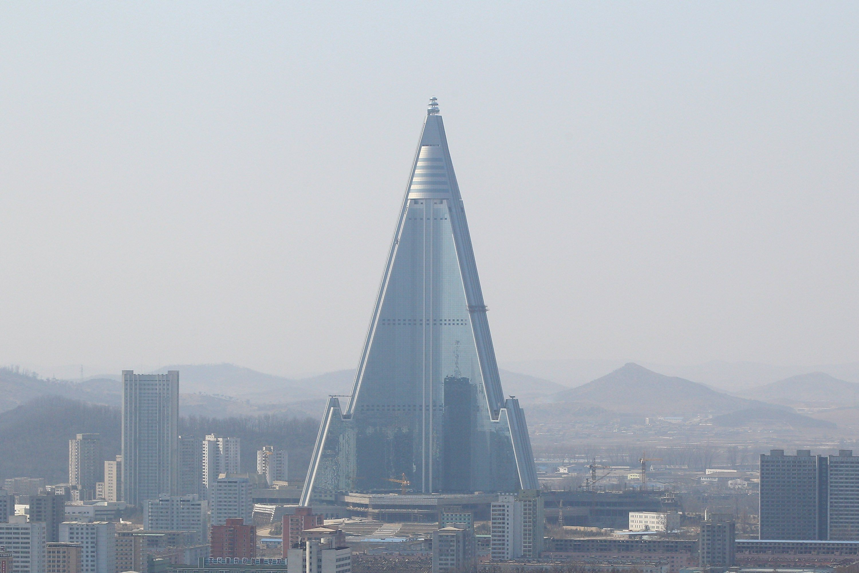 Ryugyong Hotel Pyongyang North Korea 9 Of The Most Famous