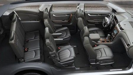 2017 Chevrolet Traverse Interior 1