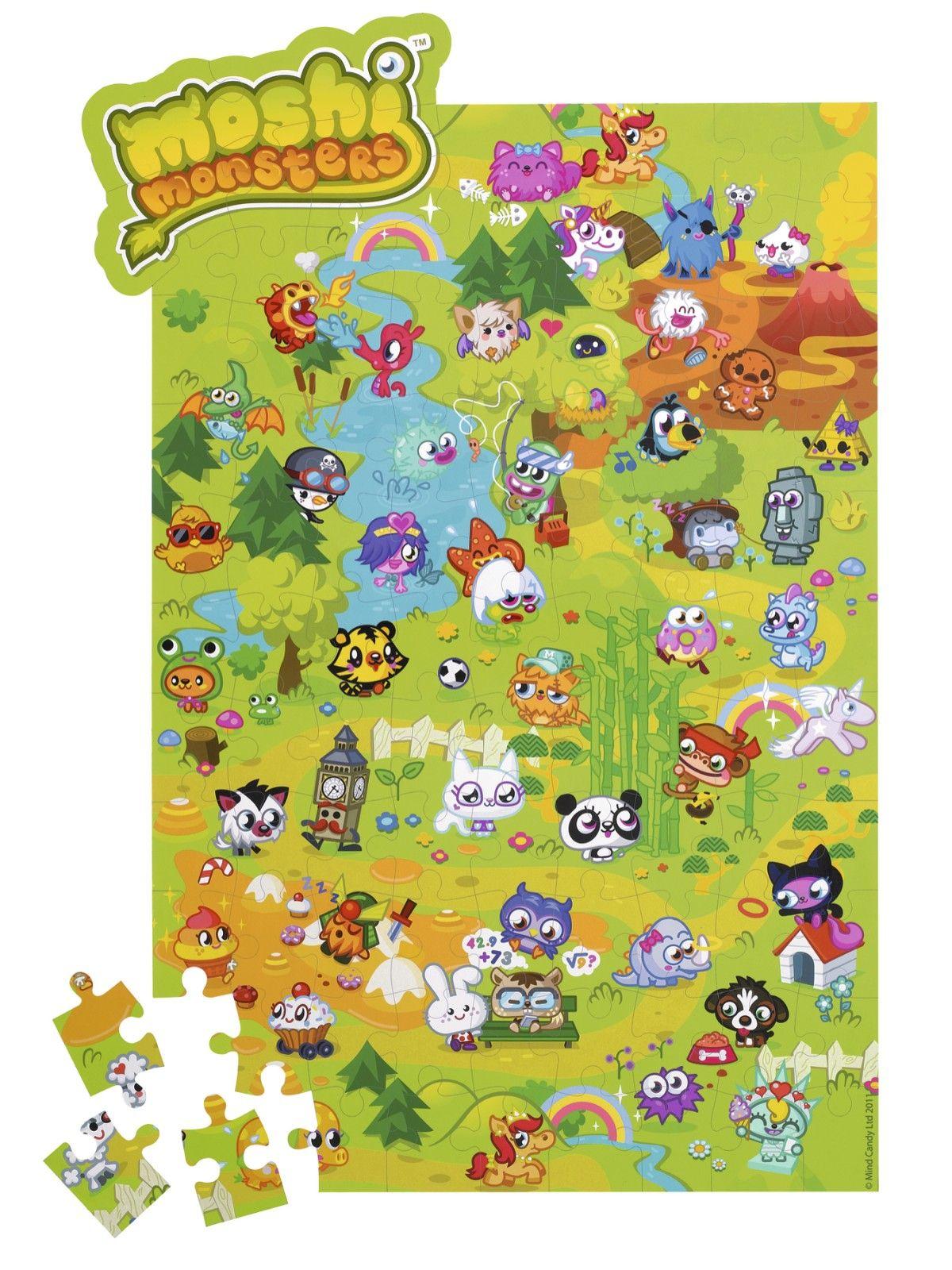 Moshi Monsters Mega Moshling Jigsaw