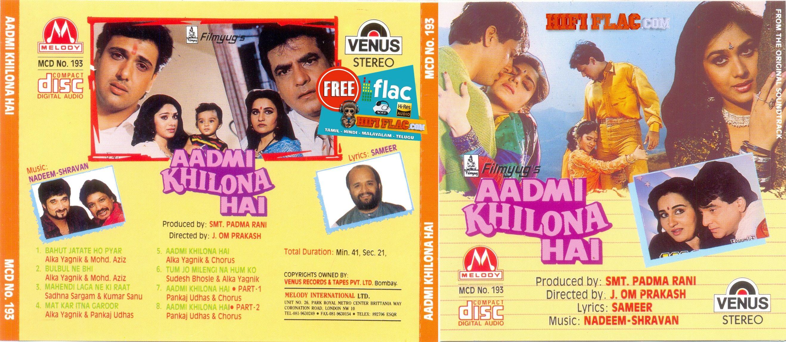 Aadmi Khilona Hai 1993 Hindi Acdrip Flac Hoeden